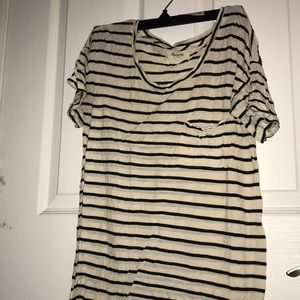 Strip tee shirt